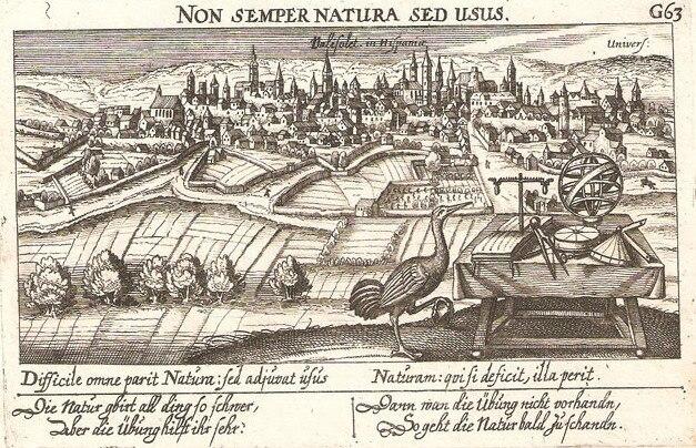 Valladolid, 1640, Gabriel Meisner, Sciographia Cosmica