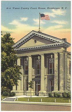 Vance County Court House, Henderson, N. C. (5812026134).jpg