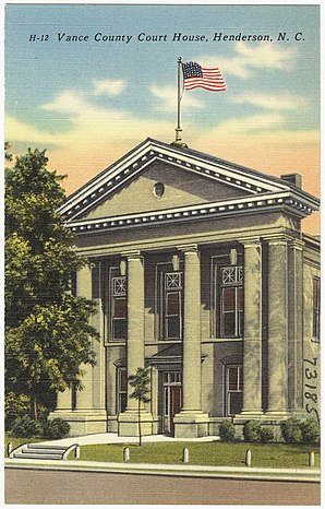 Vance County Courthouse