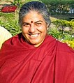 Vandana Shiva, environmentalist, at Rishikesh, 2007.jpg