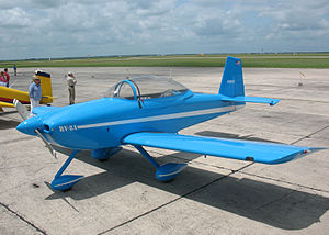 Van's Aircraft RV-8 - RV-8A at the 2007 South West Regional Fly In, Hondo, TX.