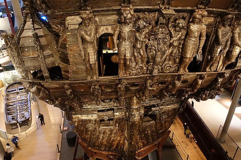 Bagian dalam Kapal Vasa
