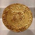 Venezia, mezzo scudo in oro di andrea gritti, 1523-38, da s. martino in poggio, loc. frascole, dicomano.jpg