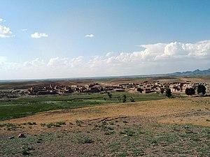 Verlassenes Dorf in Kurdistan