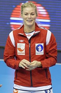 Veronica Kristiansen Norwegian handball player