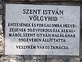 Veszprém 2016, Völgyhíd, a Városi Tanács emléktáblája.jpg