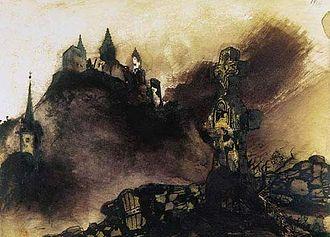 La Légende des siècles - Illustration by Victor Hugo (1871)