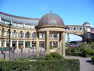 Harrogate Town in North Yorkshire, England