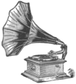 Victrola with Horn, 1911.png