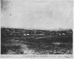View of Honolulu from Punchbowl, in 1859, by Hugo Stangenwald (PP-38-1-010).jpg