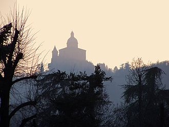 Carlo Francesco Dotti - Another view of the Sanctuary of San Luca