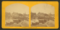 View of bridge leading to business district, from Robert N. Dennis collection of stereoscopic views.png