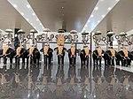 View of elephants inside Cochin International Airport 2.jpg