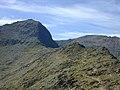 View towards Yr Wyddfa from Bwlch Ciliau - geograph.org.uk - 660538.jpg