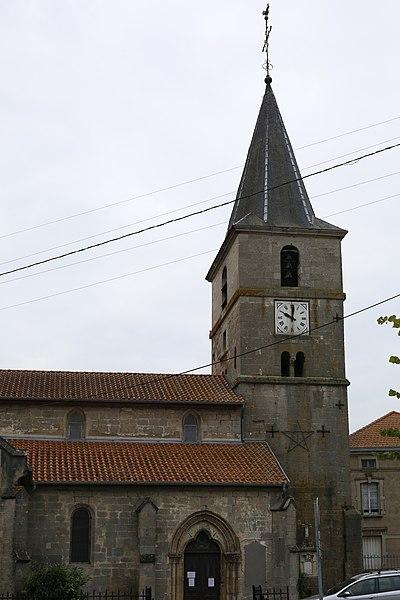 Église Saint-Remi de Vigneulles-lès-Hattonchâtel.