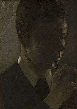Vilhelm Hammershøi - Portrait of Svend Hammershøi, the Artist´s Brother - KMS6694 - Statens Museum for Kunst.jpg
