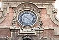 Villa corsini, a castello, facciata, orologio.JPG