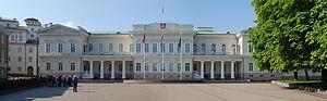 Presidential Palace, Vilnius - Façade of Palace