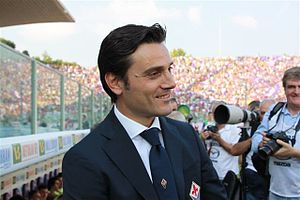 Vincenzo Montella - Montella as Fiorentina head coach, 2012