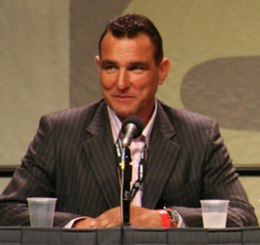 Vinnie Jones al San Diego Comic-Con International per la promozione di Prossima fermata: L'inferno (2007)