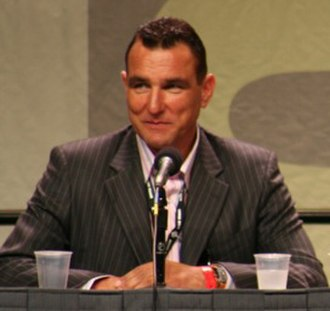 Vinnie Jones - Jones at Comic-Con promoting The Midnight Meat Train in 2007