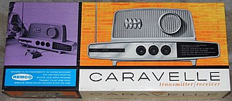 Remco - Caravell electronic transmitter / receiver, c. 1962.