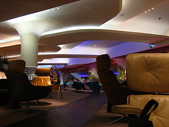 Virgin Atlantic - Clubhouse lounge at Heathrow Airport