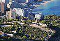 Vista de la pobla d'Ifach des del penyal d'Ifac, Calp.JPG
