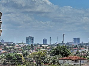 Vista do centro de Macapá.