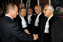 Vladimir Putin in the Netherlands 2 November 2005-5.jpg