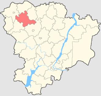 Novoanninsky District - Image: Volgogradskaya oblast Novoanninsky rayon