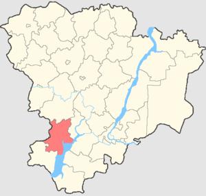 Surovikinsky District - Image: Volgogradskaya oblast Surovikinsky rayon