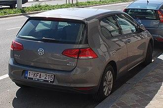 Volkswagen Golf Mk7 - 3-door hatchback