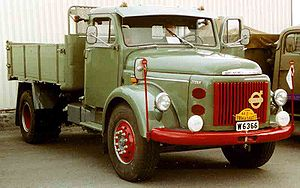 Volvo Trucks - Volvo L495 Titan Truck 1965