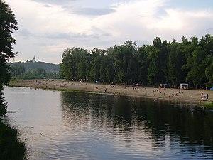 Vorskla River - Vorskla in Poltava
