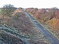 W2W cycle route, Moorsley Road, Hetton-le-Hole - geograph.org.uk - 314104.jpg