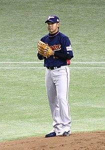 WBC2006 Daisuke Matsuzaka.jpg