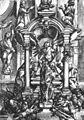 W Dietterlin - Christus und die Samariterin am Brunnen (Vorzeichnung für Architectura) 1592 (ZaWH21).jpg