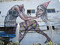 Wall painting in Jaffa.JPG