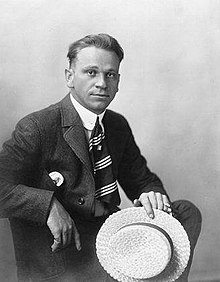 Wallace Beery en 1914 en Chicago.