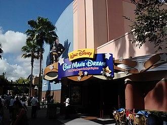 Walt Disney Presents (attraction) - Image: Walt Disney, One Man's Dream entrance