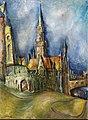 Walter Dean Goldbeck Stadtansicht mit Kirche.jpg