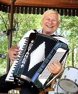 Walter Ostanek Canadian polka musician, born 1935