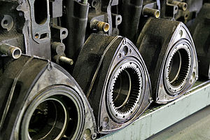 Mazda Wankel engine - Wankel rotors of 13B
