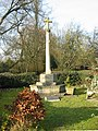 War memorial Damerham Hampshire - geograph.org.uk - 112353.jpg