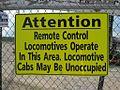 Warning remote controlled locomotives Memphis TN 010.jpg