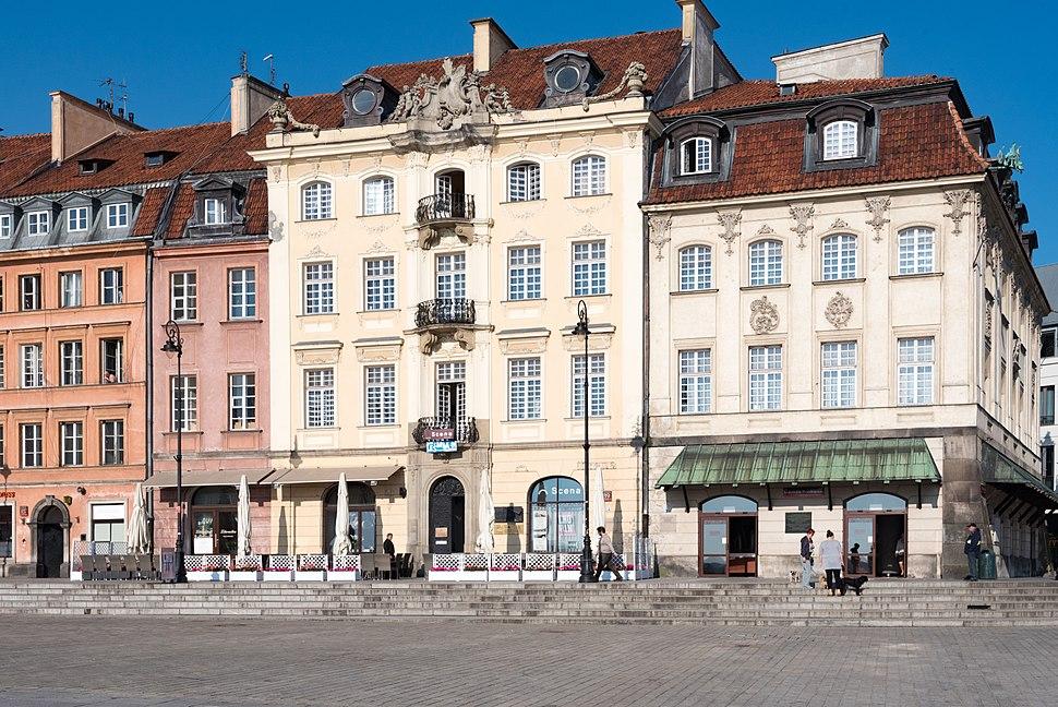 Warszawa, ul. Krakowskie Przedmieście 87, 89 20170516 003