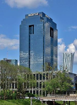 Warta Tower - Image: Warta Tower w Warszawie 2017