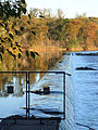 Washington Aqueduct dam - look SE - Great Falls of the Potomac River - 2007-10-31.jpg