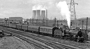Washwood Heath - Washwood Heath railway yards in 1962